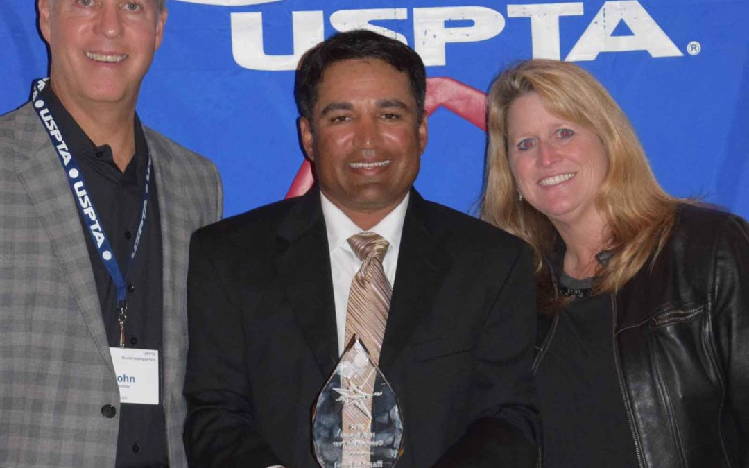 USPTA High School Coach of the Year 2014